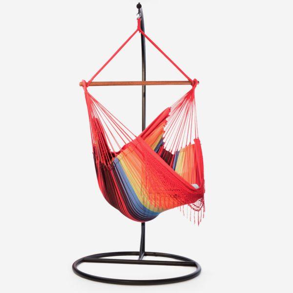 ensemble chaise hamac ceara et support semi arche la maison du hamac. Black Bedroom Furniture Sets. Home Design Ideas