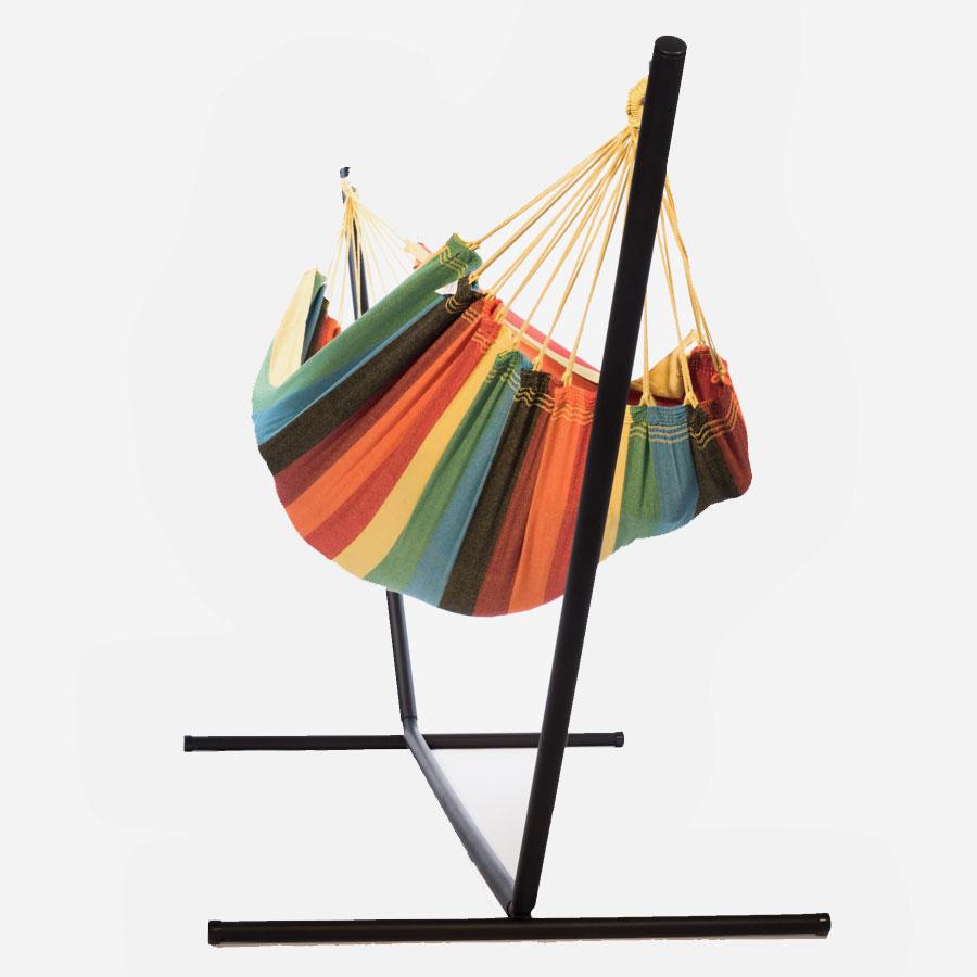 ensemble hamac 1 place ipanema et support la maison du hamac. Black Bedroom Furniture Sets. Home Design Ideas