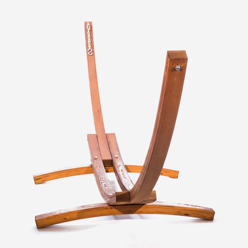 support en bois pour hamac la maison du hamac. Black Bedroom Furniture Sets. Home Design Ideas